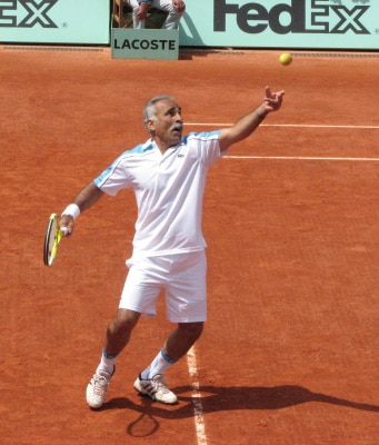 Mansour Bahrami en 2009 à Roland Garros