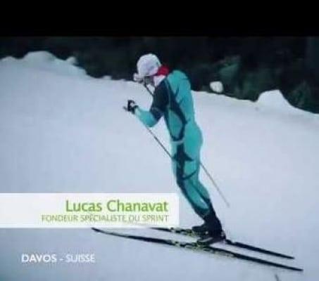 Luc Chavanat au JO de 2018