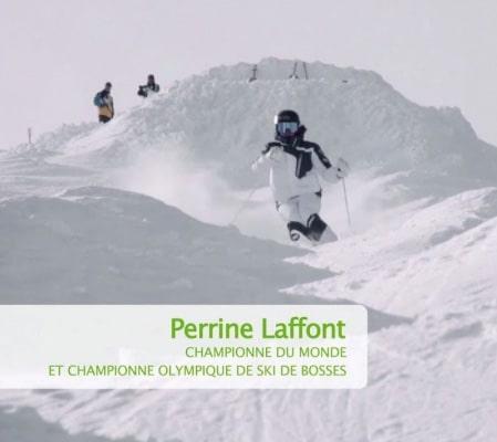 Perrine Lafont au JO de 2018