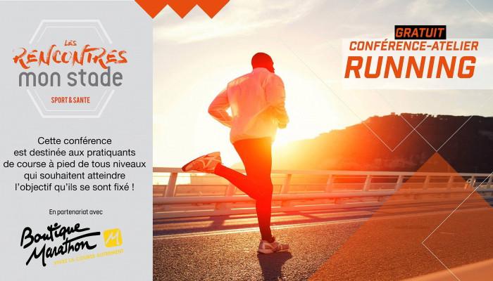 Rencontre Running MON STADE en partenariat avec la BOUTIQUE MARATHON