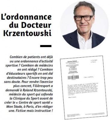 L'ordonnance du Docteur Krzentowski