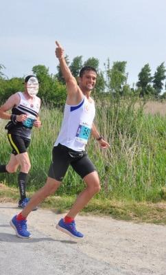 Un marathonien dans l'équipe !