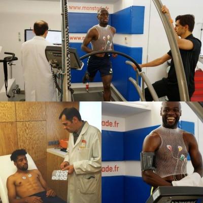 Tests d'efforts pour toute l'équipe du PARIS FC
